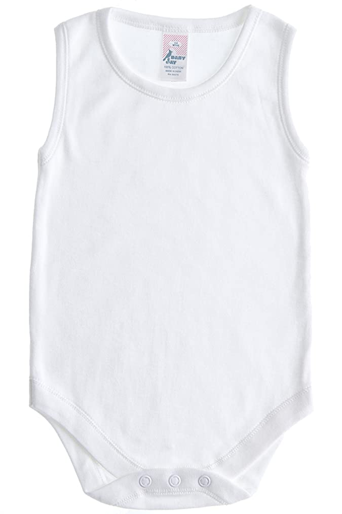 Baby Jay Sleeveless Onesie for Babies and Toddlers - Premium Soft Cotton Bodysuit for Boys and Girls