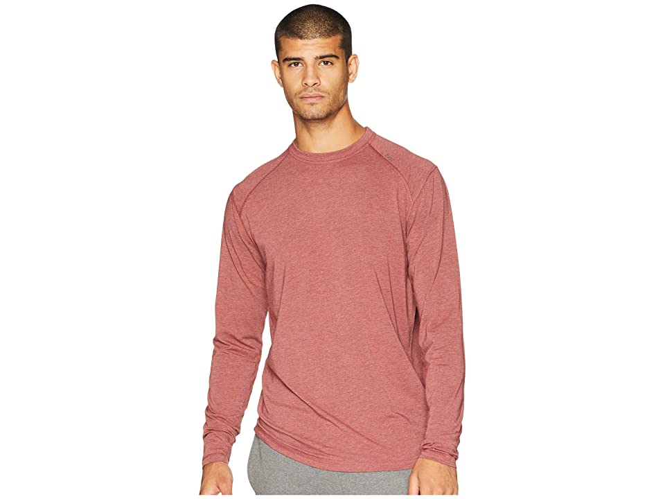 tasc Performance Carrollton Long Sleeve Shirt (Mercury Heather) Men