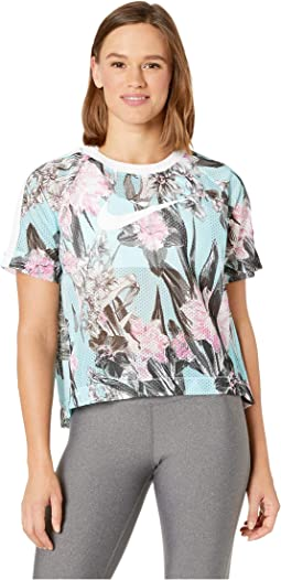 Sportswear Hyper Femme Short Sleeve All Over Print
