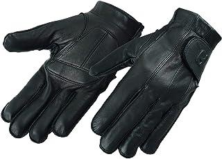 Deersoft Fingerless Gel-Padded Palm Motorcycle Gloves