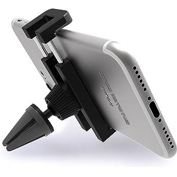 - Grigio//Nero Xiaomi iVoler Porta Cellulare Auto con Clip Universale Supporto Auto Smartphone 360 Gradi Rotazione Griglia di Ventilazione Car Mount per iPhone Huawei ECC Samsung