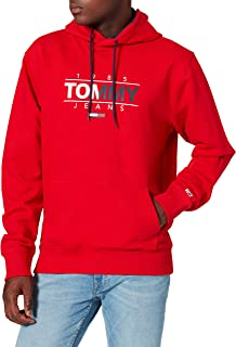 Tommy Hilfiger Tjm Essential Graphic Hoodie Felpa con Cappuccio Uomo