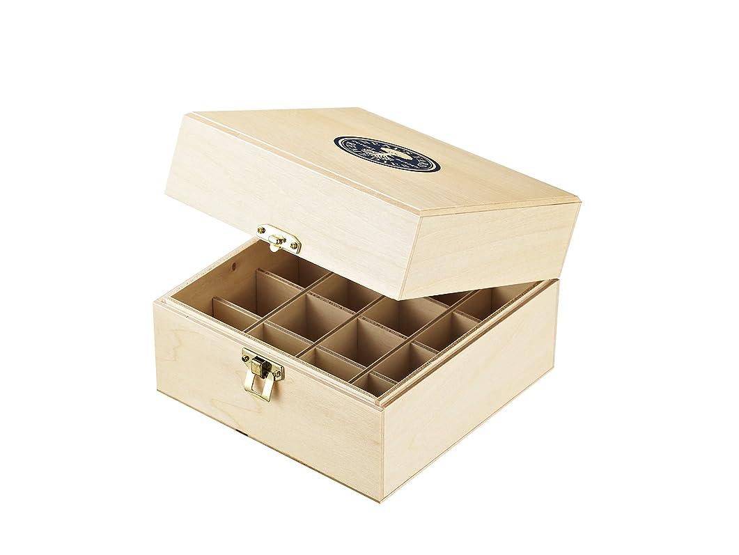 サージ競合他社選手知っているに立ち寄るニールズヤード レメディーズ エッセンシャルオイル保管木箱(16本収納)