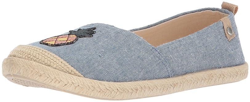 放射性ビジネス水素[Roxy] レディース Flora Slip On Shoe カラー: ブルー