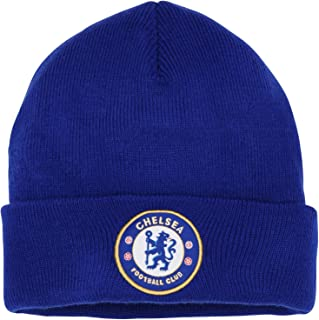 Official Football Merchandise Adult Chelsea FC Core Winter Beanie Hat