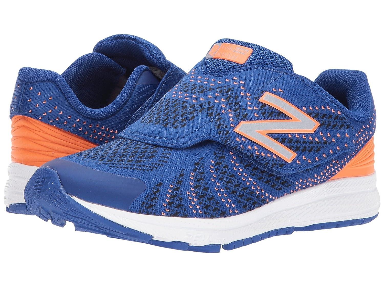 (ニューバランス) New Balance メンズランニングシューズ?スニーカー?靴 KVRUSv3P (Little Kid) Blue/Orange ブルー/オレンジ 3 Little Kid (22cm) W