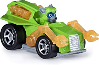 Rocky Mighty Pups Super Paws Paw Patrol Diecast Car 1:55 Scale