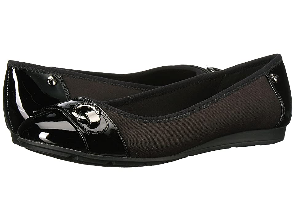 Anne Klein Azi (Black Combo Fabric) Women