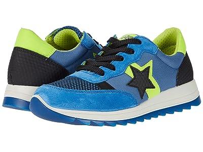 Primigi Kids 53784 (Toddler/Little Kid/Big Kid) (Blue/Green/Black) Boy