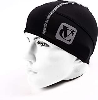 Pro Thermal Insulation Wind Protection Sports Beanie Tech Cycling, Running Hat Skull Cap Under Helmet Hat