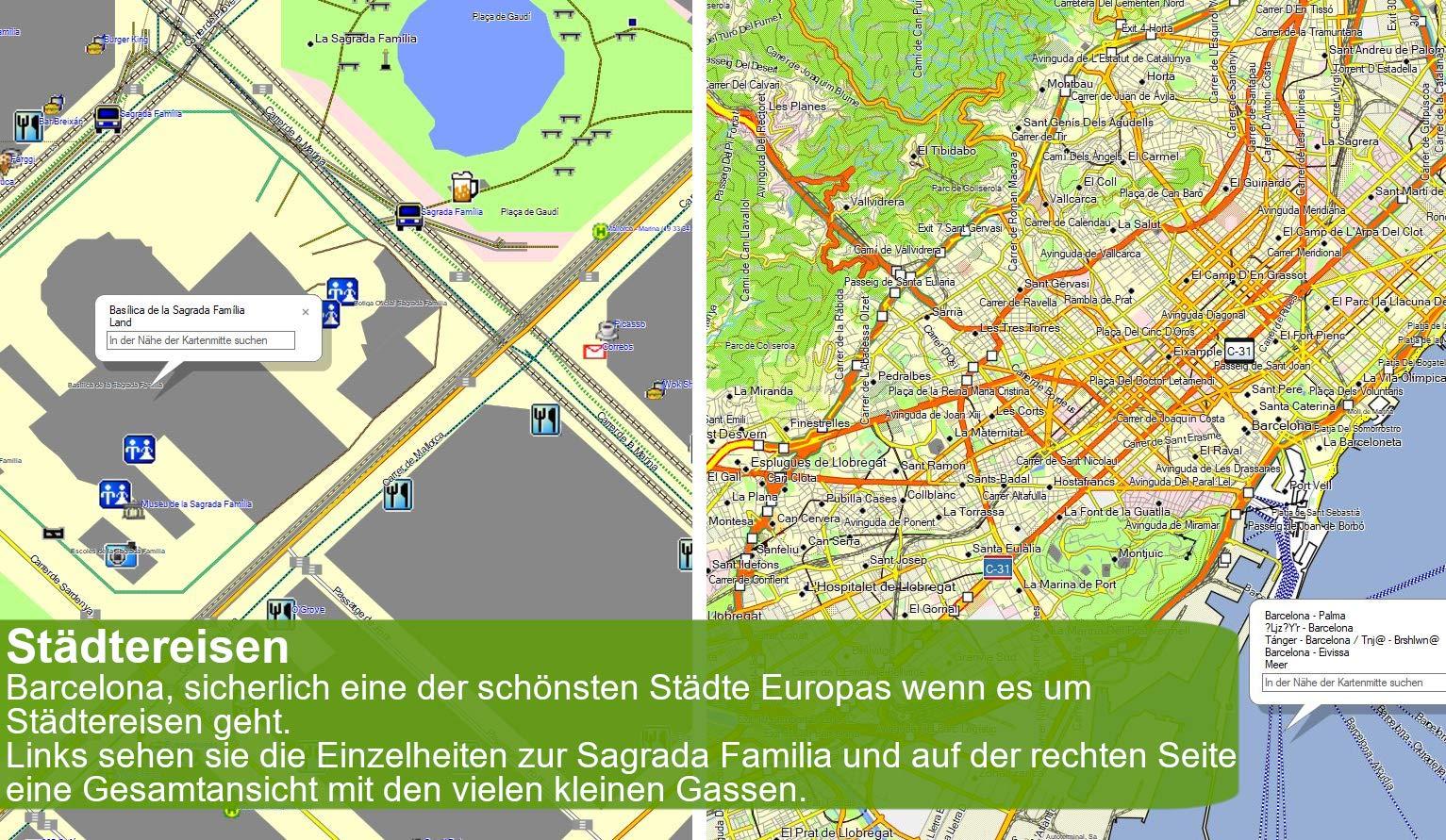 Europa V.20 - Tarjeta de Topo Profesional para Exteriores para Garmin Dakota 10, Etrex 10, Edge 520, Edge 605, Edge 705: Amazon.es: Electrónica