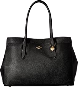 코치 베일리 크로스그레인 캐리올 - 블랙 COACH Bailey Carryall in Crossgrain Leather,LI/Black