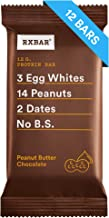 RXBAR, Peanut Butter Chocolate, Protein Bar, 1.83 Ounce (Pack of 12) Breakfast Bar, High Protein Snack