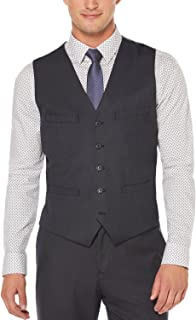 Perry Ellis Men's Classic-Fit Heathered Vest