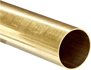 K&S Precision Metals 1146 Round Brass Tubing, 5/32