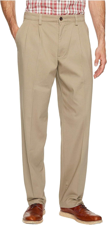 Dockers mens Easy Khaki D3 Classic Fit Pleated Pants