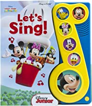 Disney Mickey Mouse Clubhouse - Let's Sing! Little Music Note Sound Book - PI Kids