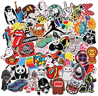 Neuleben Stickers Pack Of 150 Graffiti Stickers Decals Vinyls For Laptops Children Cars Motorcycles Bicycle Hippies Luggage Skateboards