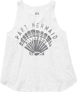Billabong Big Girls' Part Mermaid Shell Tank