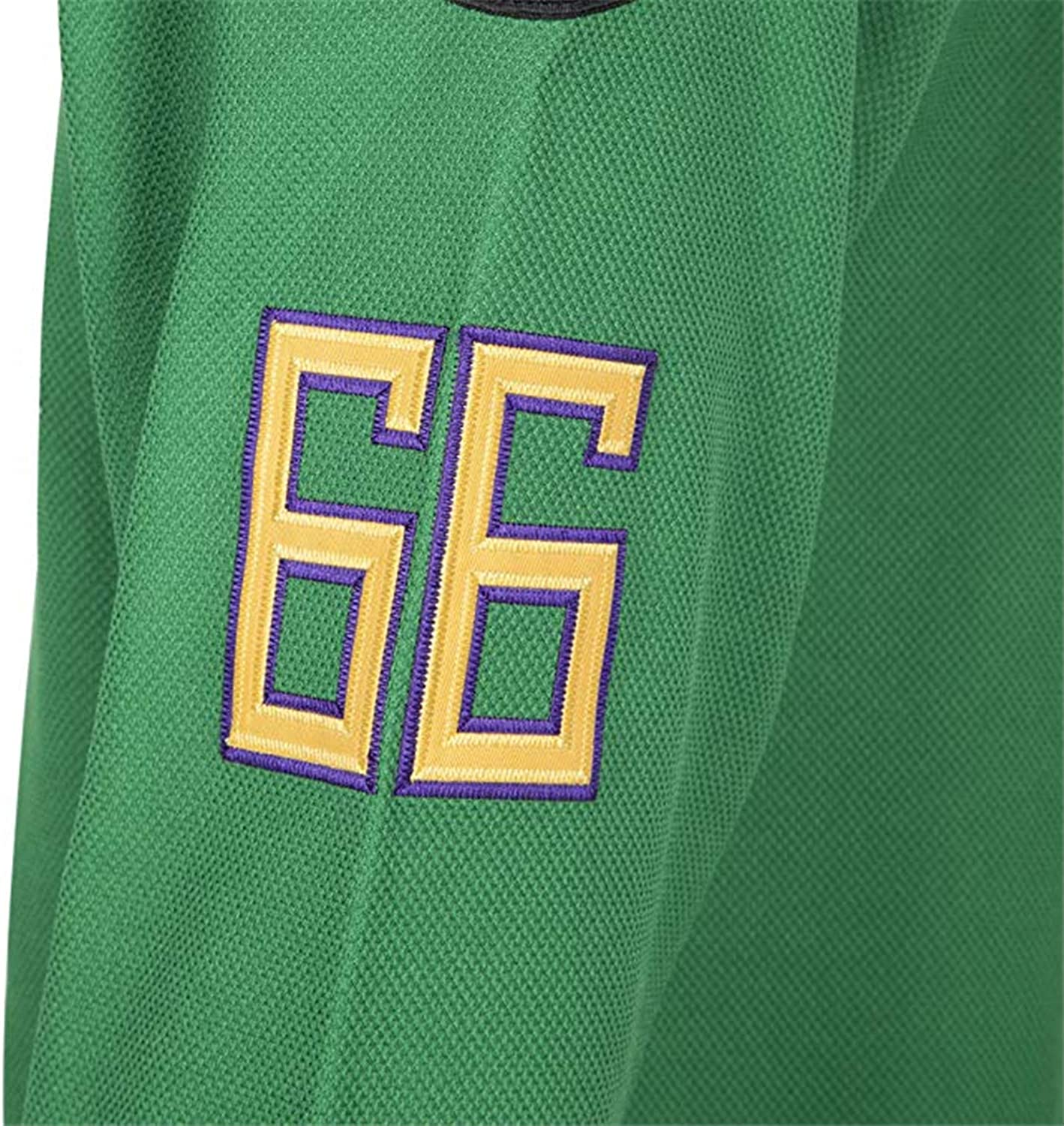 Bombay 66 The Mighty Ducks Jersey S-XXXL Green White 90S Hip Hop Clothing for Party Stitched Letters and Numbers