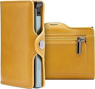 Porta Carte Di Credito Uomo By Bewmer Portafoglio Rigido Fermasoldi E Tessere Portacarte Uomo Con Protezione Rfid Porta Sc...
