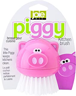 HIC Harold Import Co. Piggy Wiggy Little Egg Whisk Home Decor Products Oink Kitchen Brush -