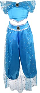 Dressy Daisy Girls Princess Jasmine Dress Up Costumes Arabian Princess Dress Halloween Party