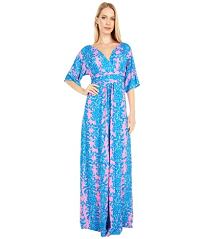 Lilly Pulitzer Parigi Maxi Dress (Prosecco Pink Dilly Dally) Women