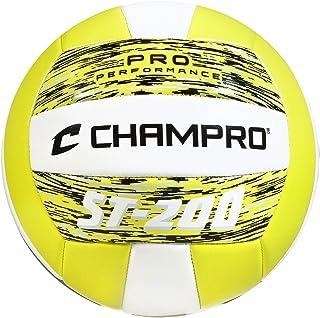 Champro Deportes ST-200Beach Volley Ball, Fibra de Camuflaje Amarillo