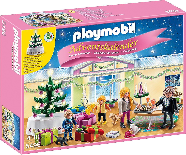 Playmobil 5496 - Adventskalender Weihnachtsabend mit beleuchtetem Baum B00IF1W4KK  Modernes Design | Reparieren