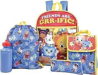 Daniel Tiger's Neighborhood Backpack Combo Set - Daniel Tiger's Neighborhood 5 Piece Backpack School Set