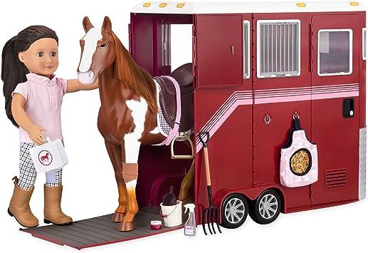 Our Generation - BD37391Z - Van pour Chevaux : Amazon.fr: Jeux et ...