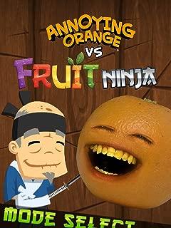 Clip: Annoying Orange vs Fruit Ninja