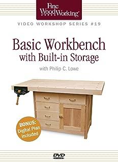 Fine Woodworking Video Workshop Series - Basic Workbench with Built-in Storage