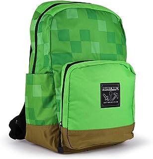 Minecraft Minecraft - Mochila para niños, color verde