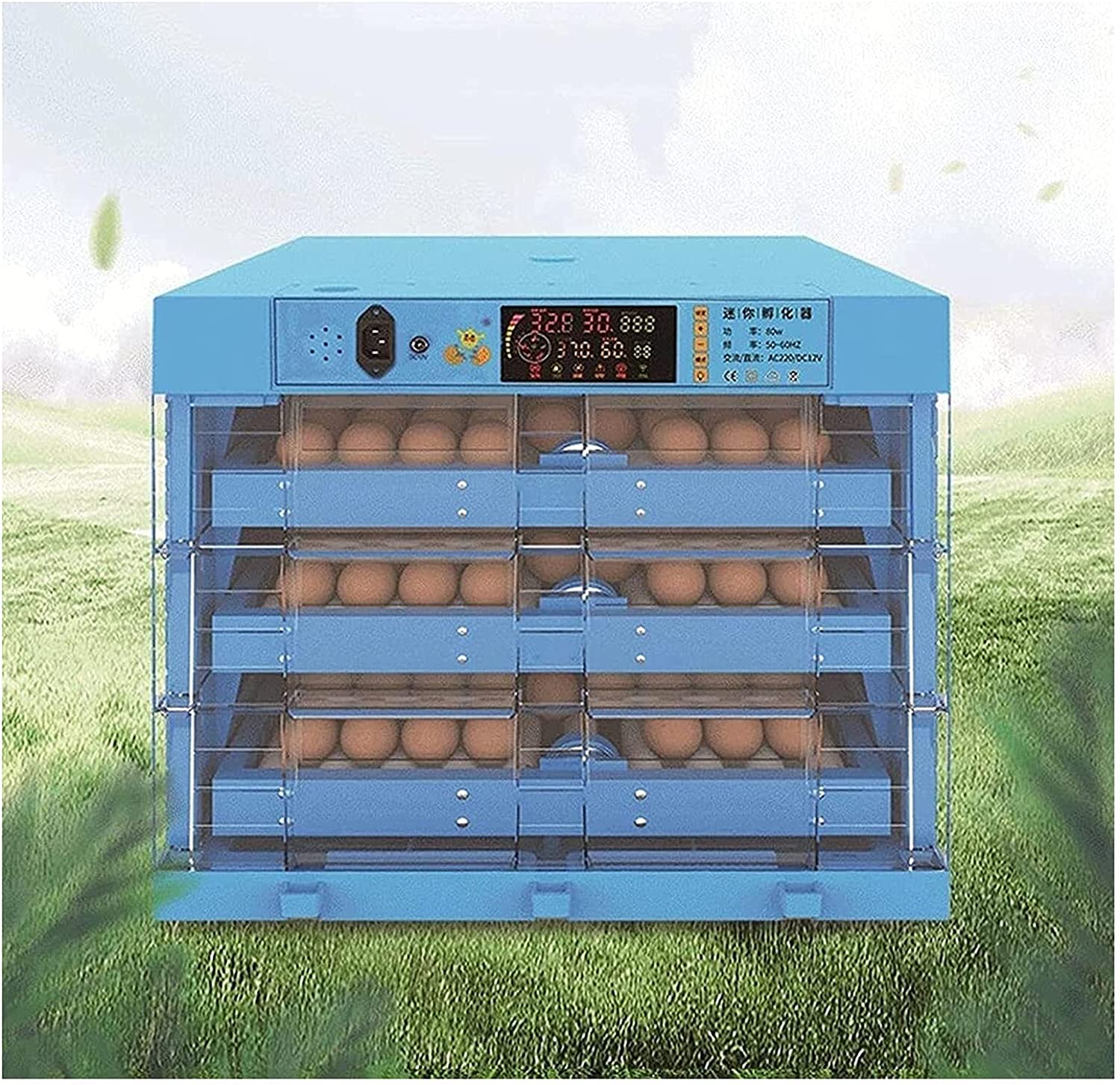 WENZHE Eggs Incubator Fort Worth Mall Very popular with Automatic and Turning Humidity Co Egg