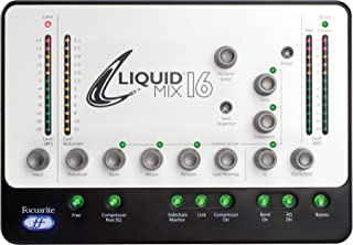 Focusrite フォーカスライトLiquid Mix 16 Firewire Audio Processor EQ コンプレッサー [並行輸入品]
