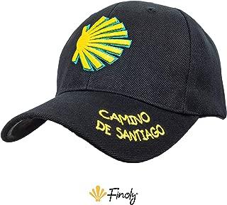 Finoly Gorra Concha Peregrino Camino de Santiago Xacobeo Jacobeo