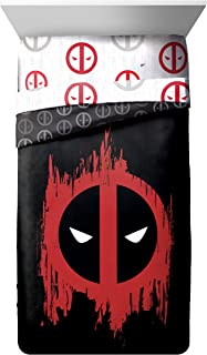 deadpool comforter set twin