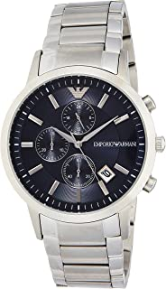 Emporio Armani Men's Quartz Watch, Chonograph Display and Stainless Steel Strap AR11164