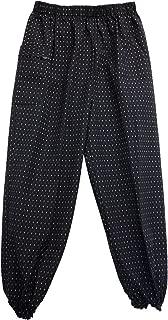 Monpe Women's work loose fit pants made in Kurume Japan Ladys size