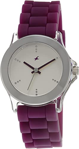 Fastrack Beach Upgrades Analog White Dial Women's Watch NM9827PP06 / NL9827PP06