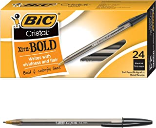 Best bic cristal 1.6 mm pens black Reviews