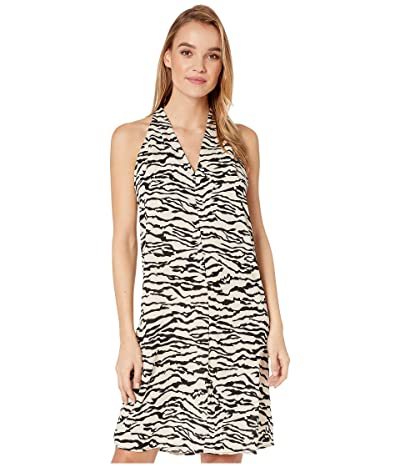 Bishop + Young Untamed T-Back Dress (Zebra Print) Women