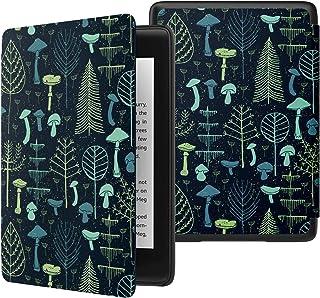 ATiC NEW-Kindle Paperwhite(Newモデル)ケース Kindle Paperwhite 2018 第10世代用軽量薄型保護カバー(オートスリープ機能付き) , 菌の森