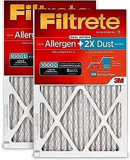 Filtrete(フィルタレット) マイクロアレルゲンプラス 空気清浄フィルター 20x20x1 AD02PL-2PK-6E 1