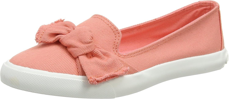Rocket Dog Womens Clarita Denim Peach Flat Slip On shoes Size