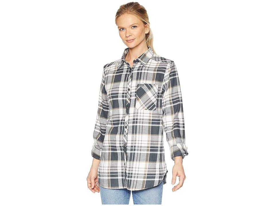 Columbia Simply Puttm II Flannel Shirt (Shark Plaid) Women