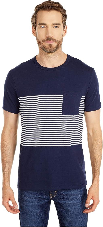 Navy English Feeder Stripe