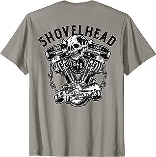 Classic Vintage Shovelhead Motorcycle 1966-1984